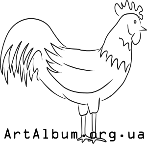 Clipart rooster