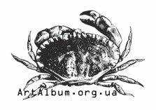 Clipart brown crab