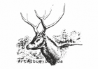 Clipart Pere David's deer