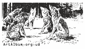 Clipart wolves