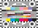 Clipart TV resolution chart color