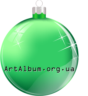 Clipart Christmas ball green