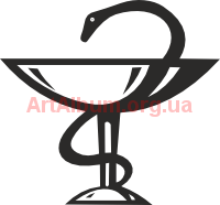 Clipart Medical sign cup and snake