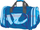 Clipart blue bag