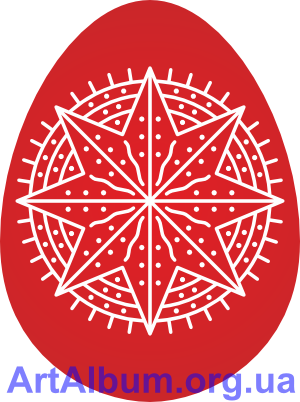 Clipart ornament star (central Galicia)