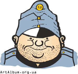 Clipart the good soldier Švejk