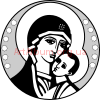 Clipart Virgin Mary 01