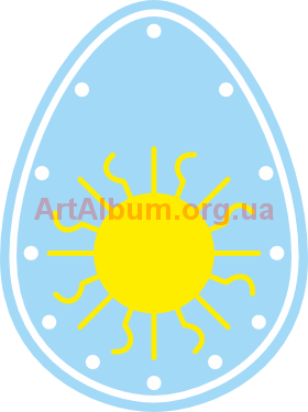 Clipart egg from Podillia