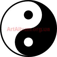 Clipart Yin and yang