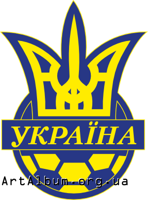 Clipart Football Federation of Ukraine logo