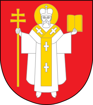 Clipart coat of arms of Lutsk