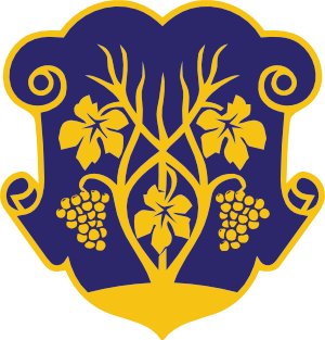 Clipart coat of arms of Uzhhorod