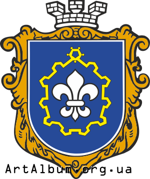 Clipart coat of arms of Brody