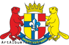 Clipart coat of arms of Brody raion