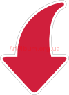 Clipart arrow down