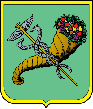 Clipart coat of arms of Kharkiv