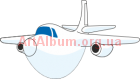 Clipart cartoon plane